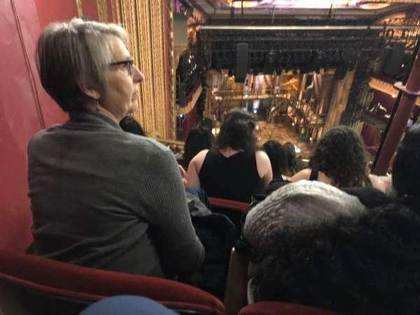 CIBC Theatre, section: Balcony L, row: M, seat: 9
