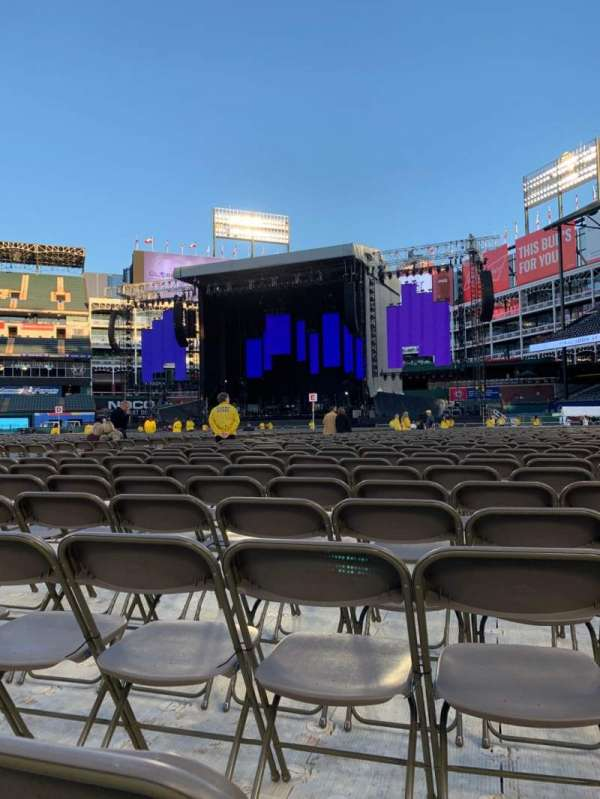 Globe Life Park in Arlington, section: N, row: 35, seat: 13