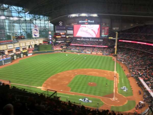Minute Maid Park, section: 415, row: 12, seat: 15