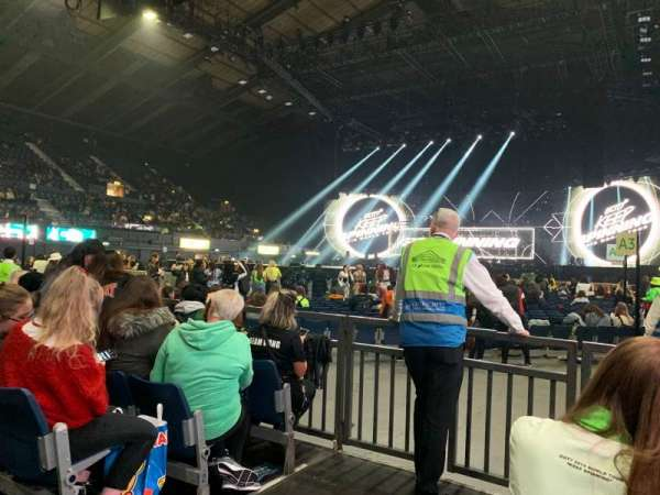 SSE Arena, Wembley, section: C1, row: 5, seat: 3