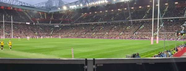 Old Trafford, section: EL132, row: L3A, seat: 37