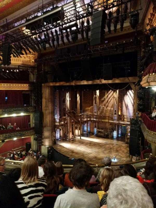 CIBC Theatre, section: Mezzanine R, row: E, seat: 14