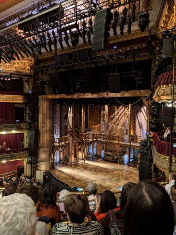 CIBC Theatre, section: Mezzanine R, row: E, seat: 16