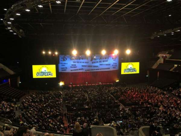 The SSE Hydro, section: 228, row: T, seat: 185