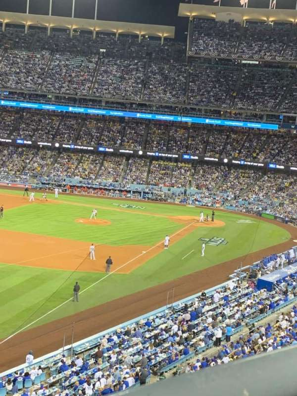 Dodger Stadium, section: 47RS, row: A, seat: 6