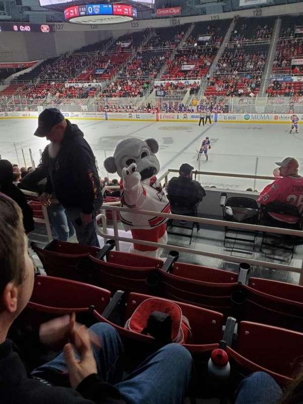 Bojangles' Coliseum, section: 110