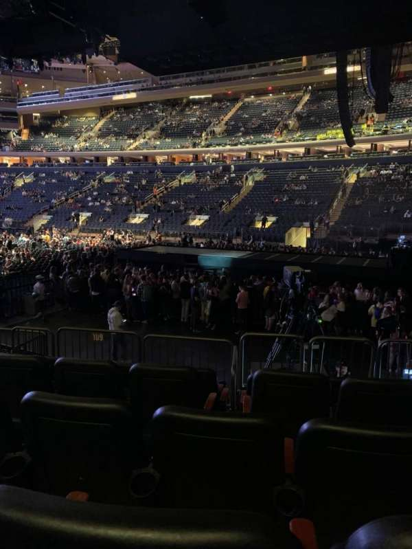 Madison Square Garden, section: 109, row: 8, seat: 12