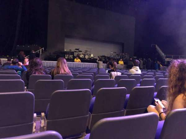 The O2 Arena, section: A1, row: P, seat: 2