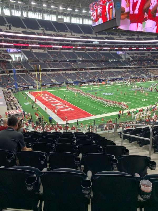 AT&T Stadium, section: 242, row: 9, seat: 3