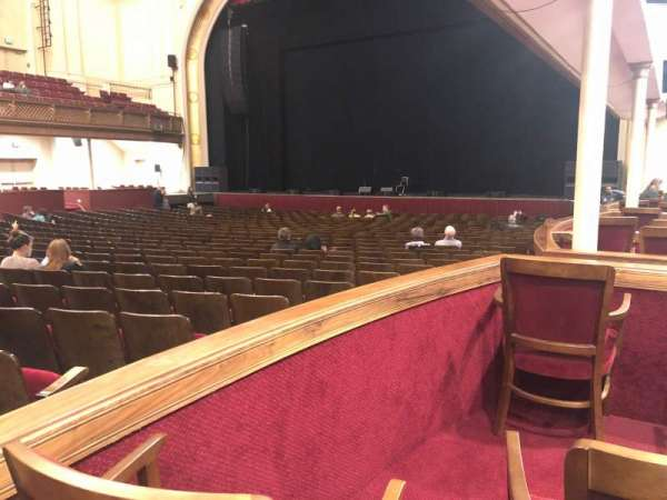 Modell Performing Arts Center, section: Box H - Right, row: A, seat: 2