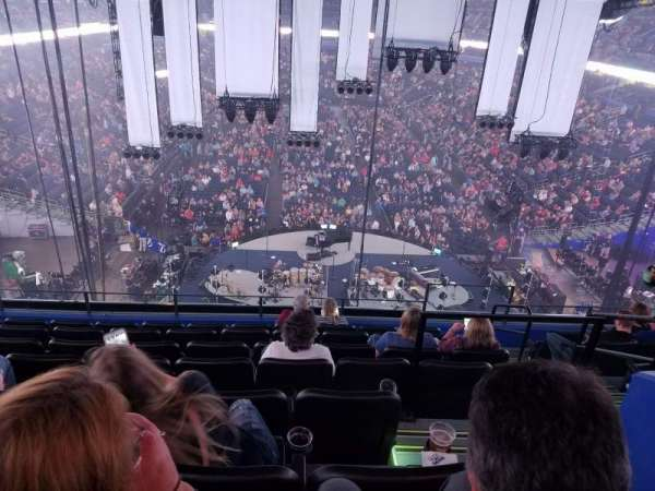 Amalie Arena, section: Club 5, row: H, seat: 2
