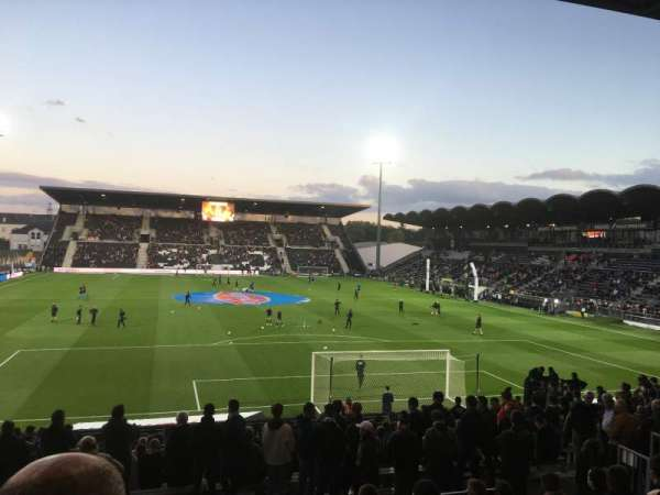 Stade Raymond Kopa, section: Coubertin E, row: U, seat: 124