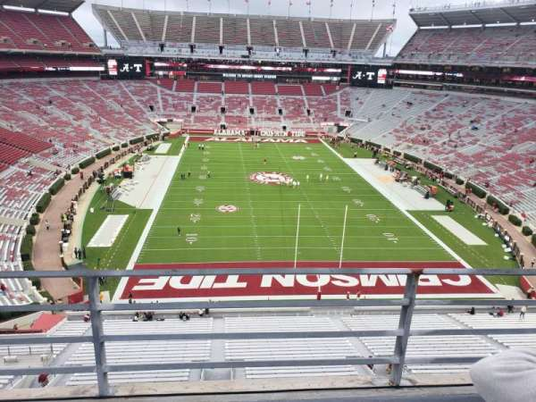Bryant-Denny Stadium, section: SS-8, row: 2, seat: 20