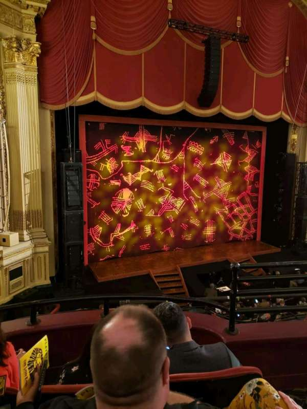 Citizens Bank Opera House, section: Dress Circle L, row: cc, seat: 23