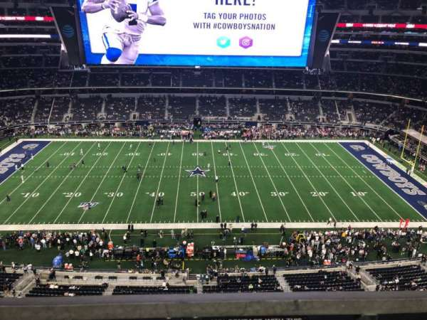 AT&T Stadium, section: 443, row: 1, seat: 15