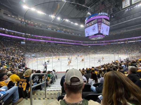 PPG Paints Arena, section: 104, row: J, seat: 26