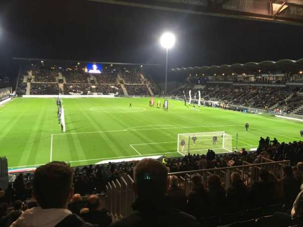 Stade Raymond Kopa, section: Coubertin E, row: AA, seat: 137