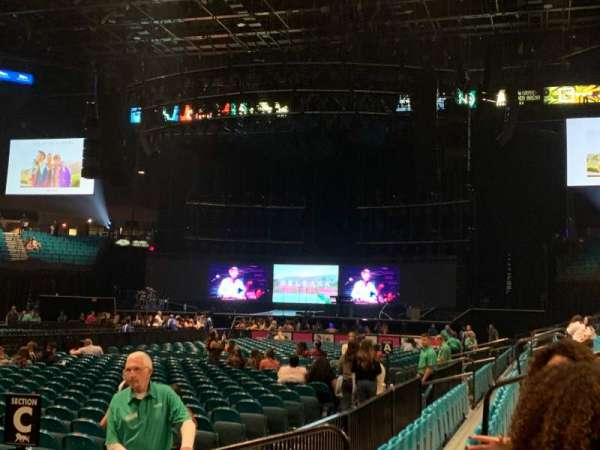 MGM Grand Garden Arena, section: 8, row: C, seat: 9