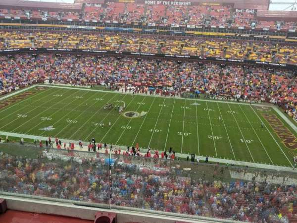 FedEx Field, section: 426, row: 1
