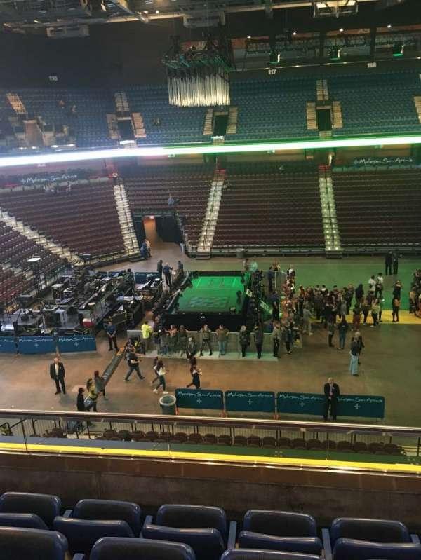 Mohegan Sun Arena, section: 107, row: D, seat: 6