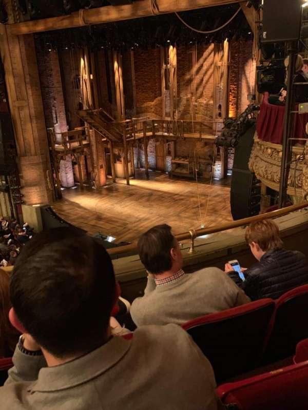 CIBC Theatre, section: Balcony R, row: C, seat: 18