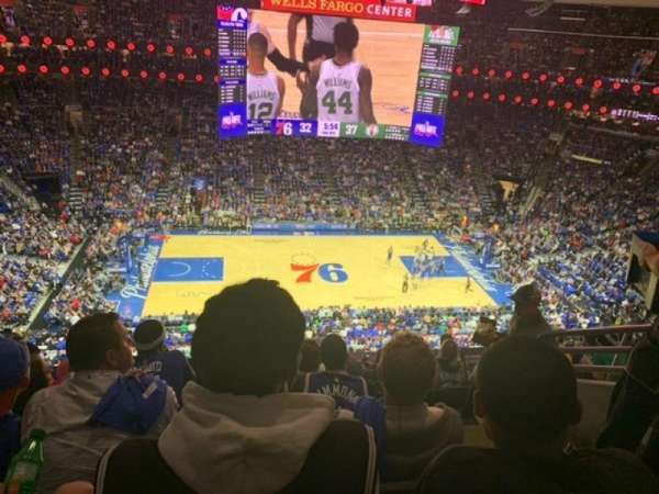 Wells Fargo Center, section: 212, row: 7, seat: 13