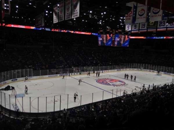 Nassau Veterans Memorial Coliseum, section: 209, row: 2, seat: 3