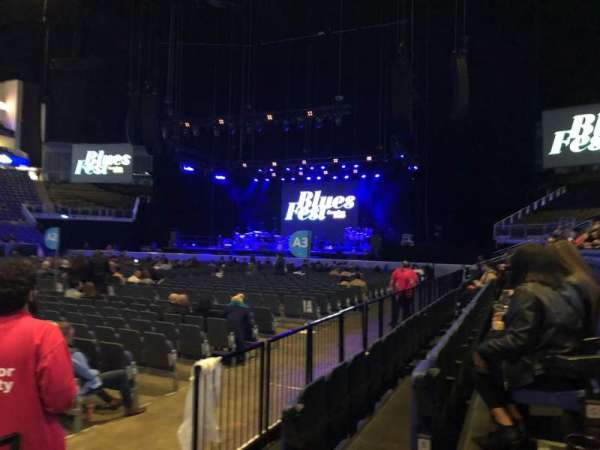The O2 Arena, section: 111, row: C, seat: 336