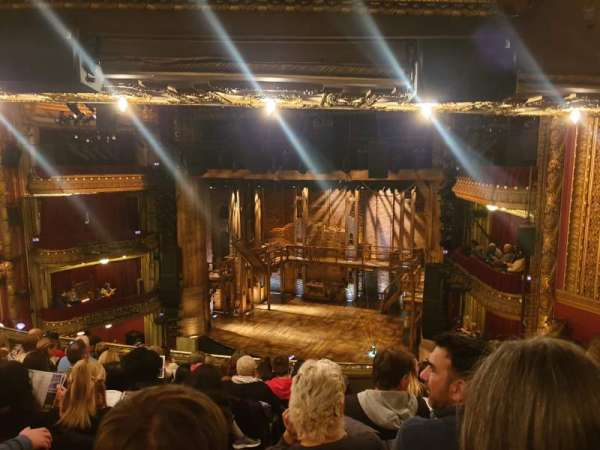 CIBC Theatre, section: Mezzanine R, row: J, seat: 4