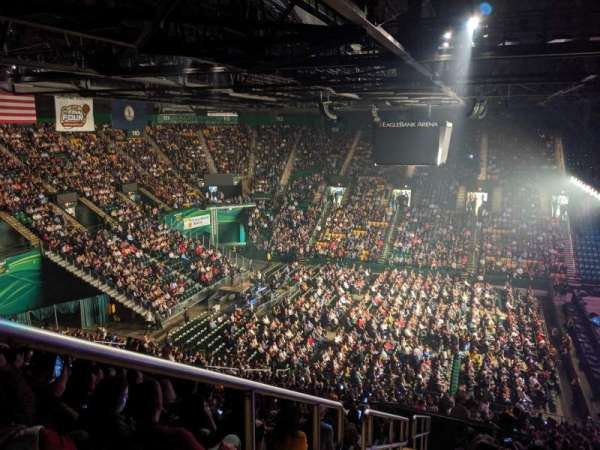 EagleBank Arena, section: 130