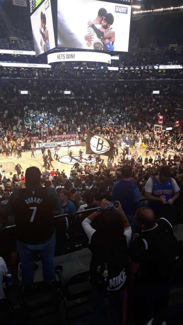 Barclays Center, section: 125, row: 4, seat: 8