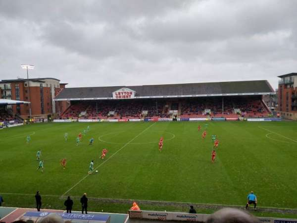 Brisbane Road, section: West, row: R, seat: 69