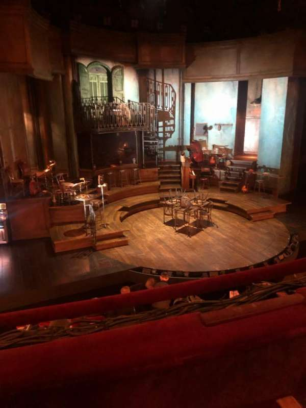 Walter Kerr Theatre, section: Mezzanine L, row: B, seat: 5