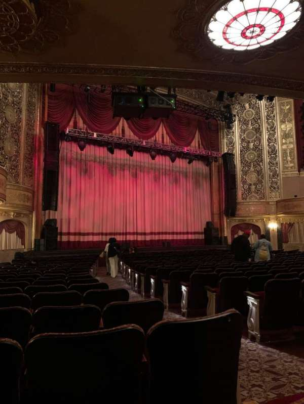 Warner Theatre (Washington, D.C.), section: Orchestra left, row: S, seat: 5-7