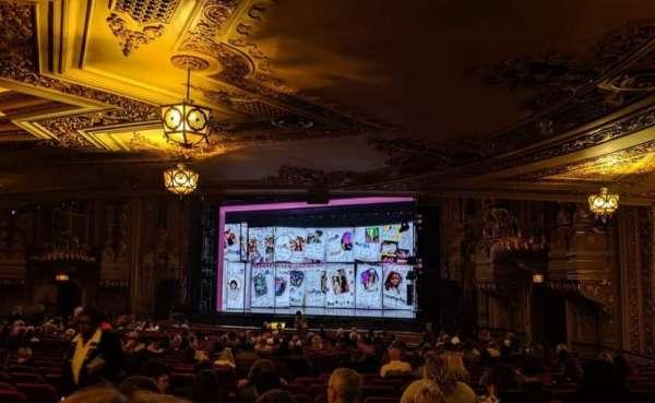 Ohio Theatre (Columbus), section: Orchestra 1, row: Z, seat: 14