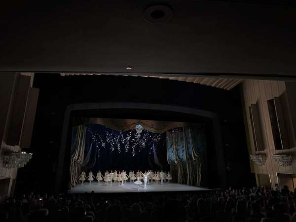 Dorothy Chandler Pavilion, section: Orchestra, row: W, seat: 49