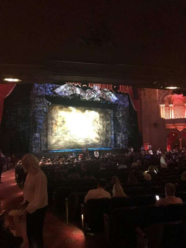 Fox Theatre (Atlanta), section: Orchestra L, row: CC, seat: 3