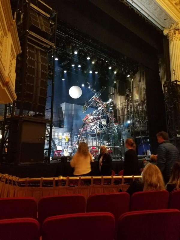 Shubert Theatre (Boston), section: Orchestra Left, row: D, seat: 11
