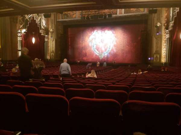 Hollywood Pantages Theatre, section: Orchestra RC, row: SS, seat: 207
