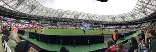 London Stadium, section: 133, row: 2, seat: 344