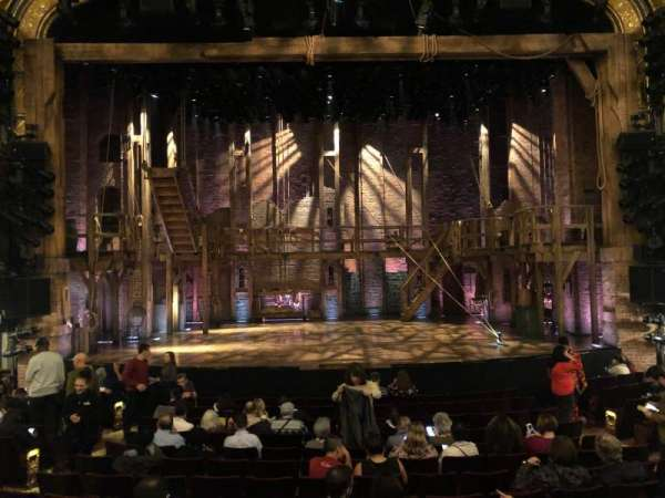 Richard Rodgers Theatre, section: Orchestra C, row: N, seat: 108