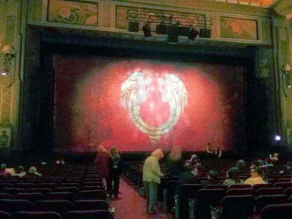 Hollywood Pantages Theatre, section: Orchestra LC, row: V, seat: 301