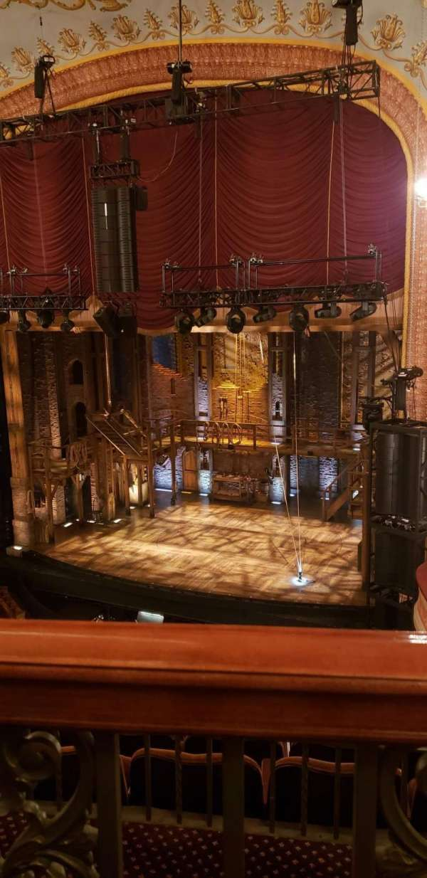 Forrest Theatre, section: Rear Mezzanine D, row: A, seat: 12