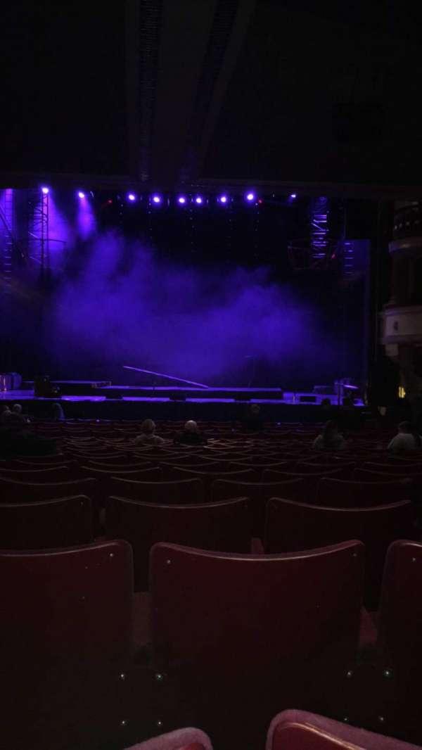 Birmingham Hippodrome, section: Rear Stalls, row: T, seat: 20