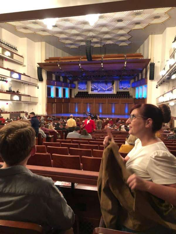 The Kennedy Center Concert Hall, section: Orchestra, row: 4, seat: 8