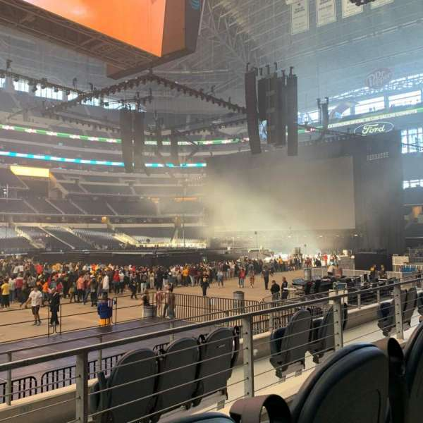 AT&T Stadium, section: C112, row: 5, seat: 10