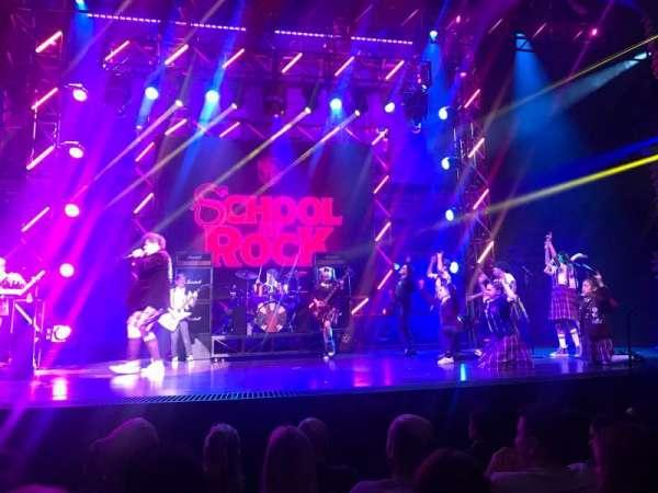Gillian Lynne Theatre, section: Stalls, row: E, seat: 41