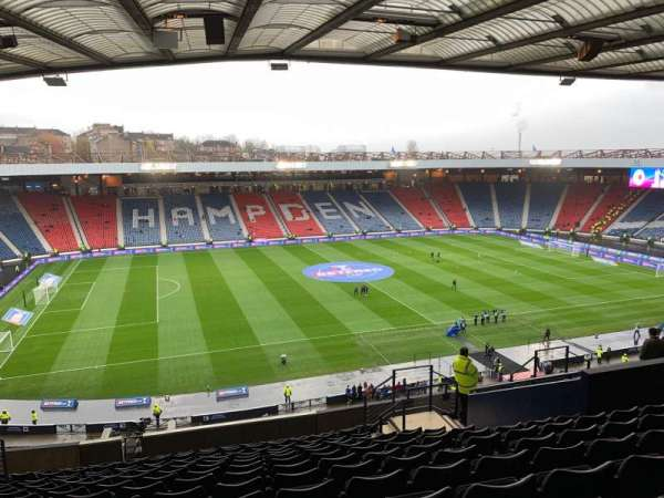 Hampden Park, section: N2, row: T, seat: 2