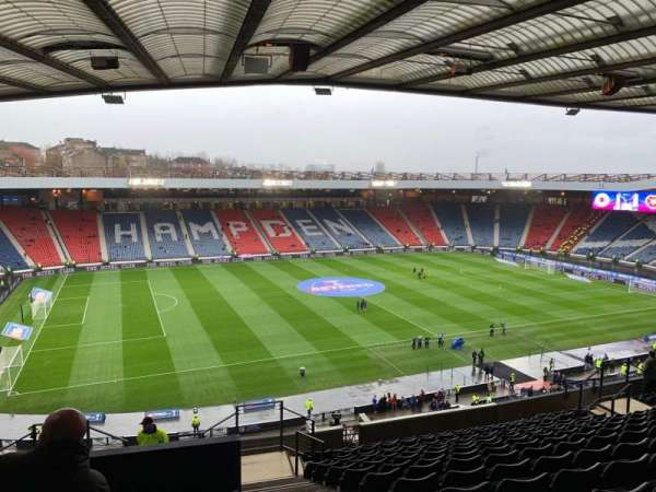 Hampden Park, section: N2, row: T, seat: 16
