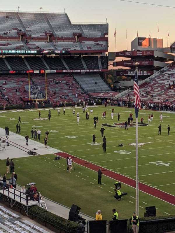 Williams-Brice Stadium, section: 17
